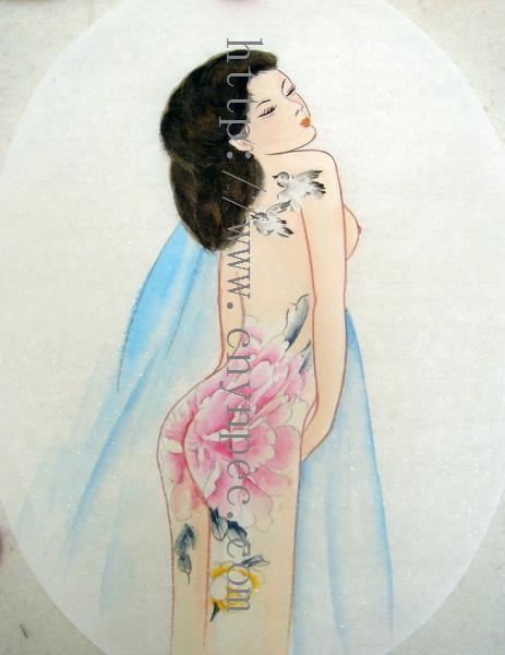 纹身美女图》·中堂·3